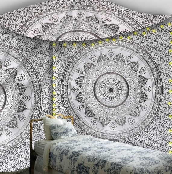Mandala Tapestry Indian Wall Hanging Decor Christmas Party Queen Bedspread Throw