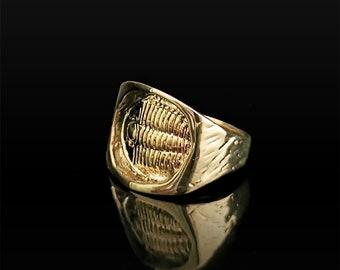 Archaeologic Fossil Artifact- Brass Ring
