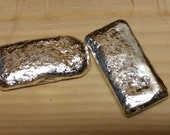 1 oz Silver Bar .999 Fine Silver Hand Poured