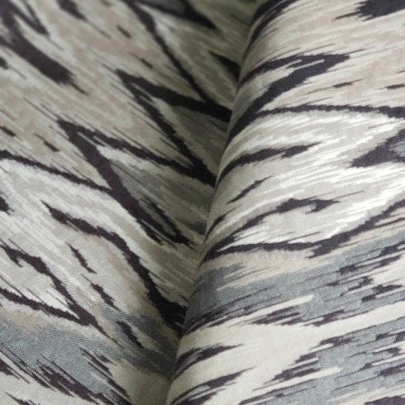 etc.. drapery Exotic woven ethnic pattern in black,tan,/& gray perfect for home decor bedding upholstery