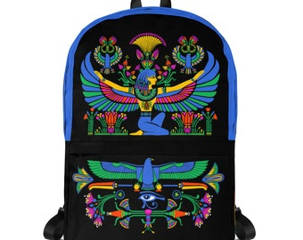 ba3377bc8d0 Backpack egypt   Etsy