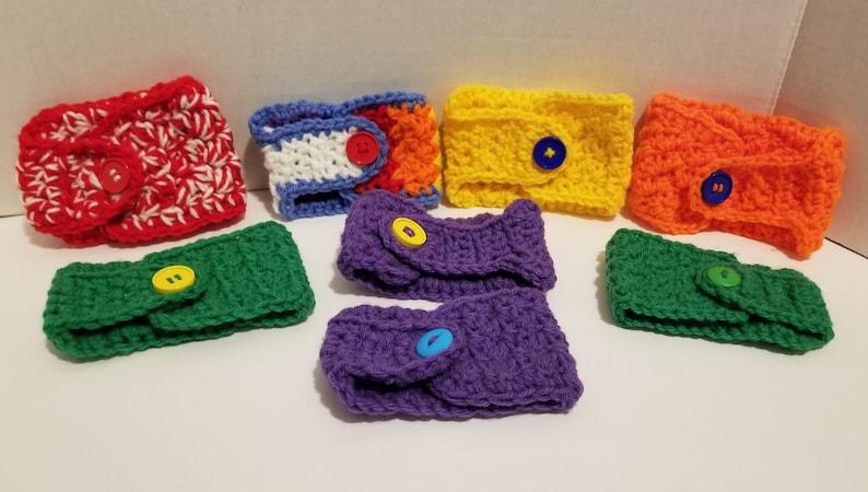 Crochet Coffee Mug Cozy image 0