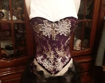 4ce5e4249 French lace corset