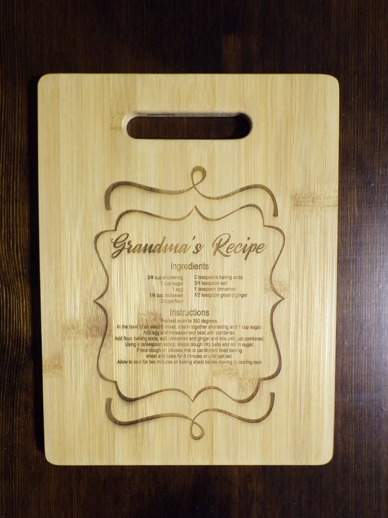Family name engraved cutting board First home gift Personalized Wedding Cutting board Personalized mothers day cutting board gift