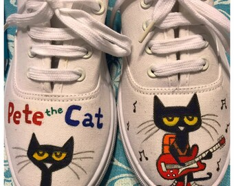 40e3cc5ac4f50 Cat shoes | Etsy