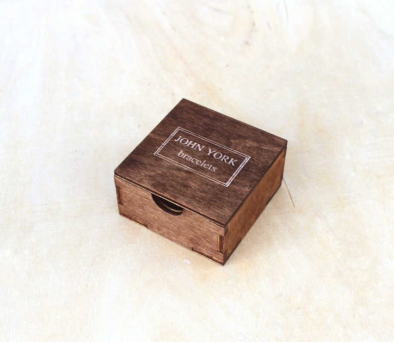 Custom Wooden Jewelry Boxes With Logo Engraved Gift Box For Bracelet Earrings Personalized Keepsake Wholesale Order Supply Product Packaging
