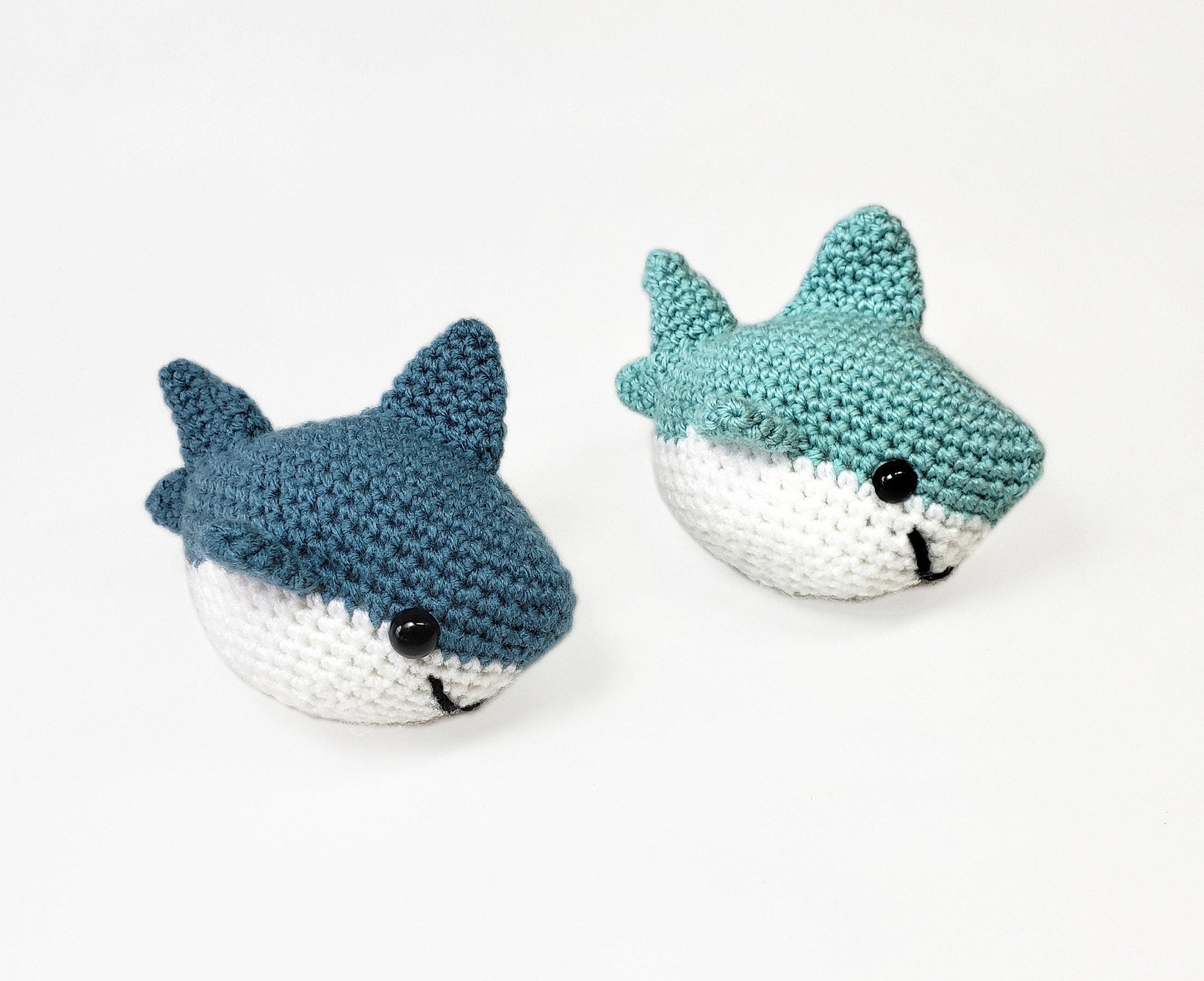 Shane the Shark - US Terminology - Amigurumi Crochet pattern by ... | 2105x2583