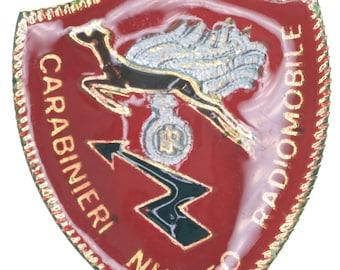 c6329189602 Italian Police Badge  Carabienri Nucleo Radiomobile