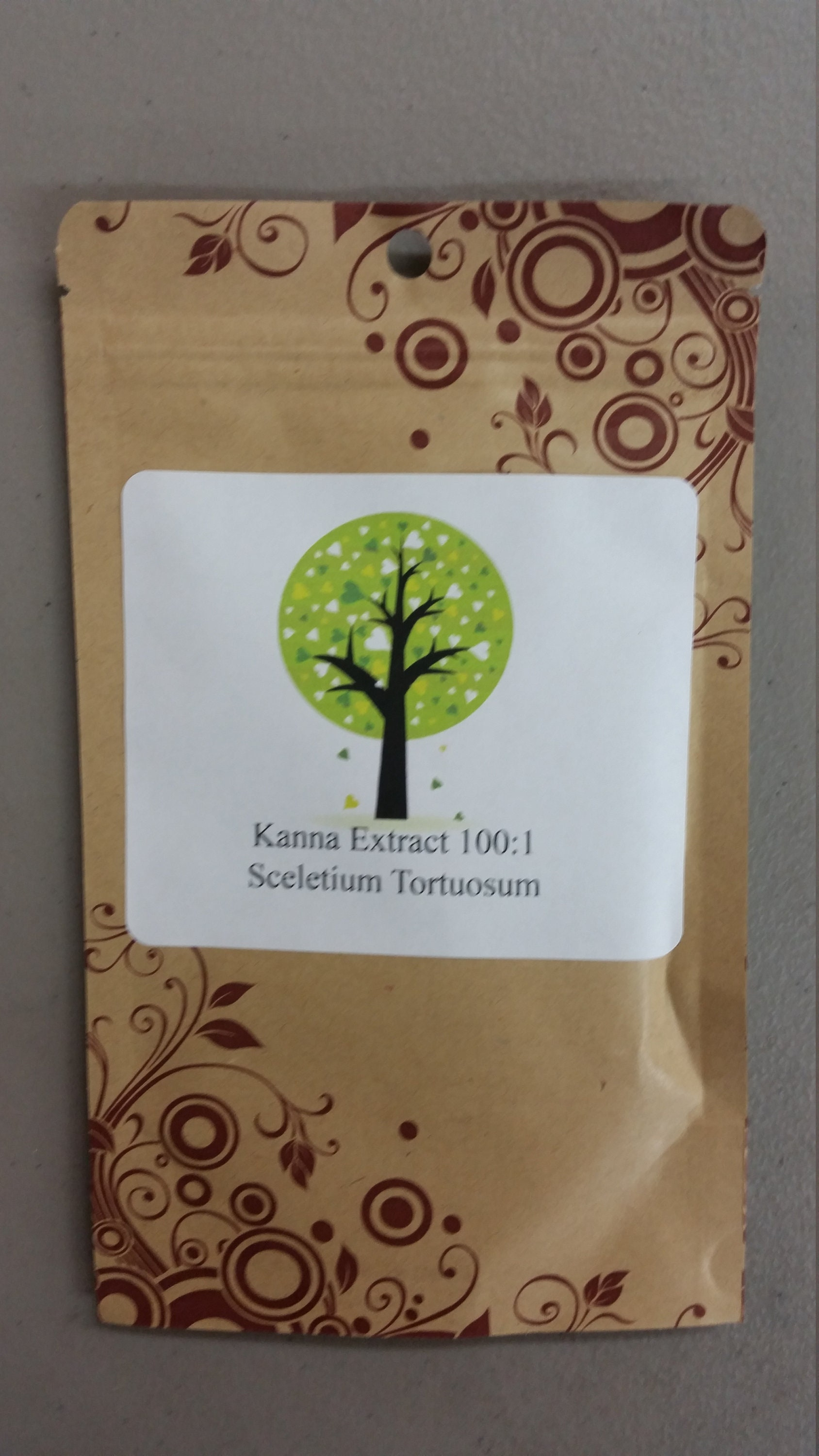 Billy's Botanicals 50 grams Kanna 100:1 extract Sceletium