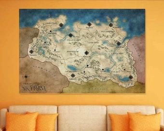 Forgotten Realms Map 5e