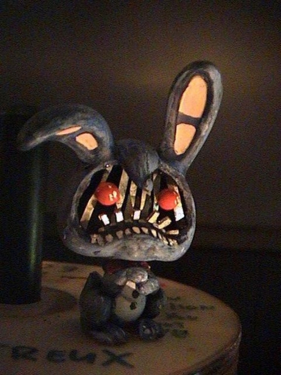 Withered Bonnie Fnaf Lps Custom Five Nights At Freddys 2 Etsy