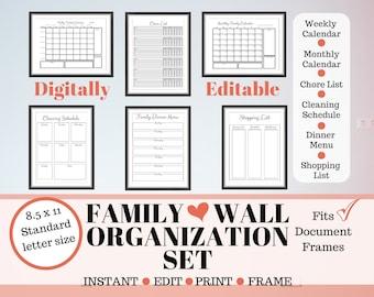 Home & Family Planner