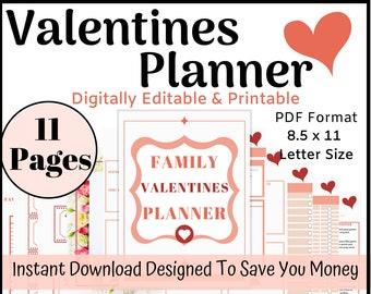 Valentines Day Planner