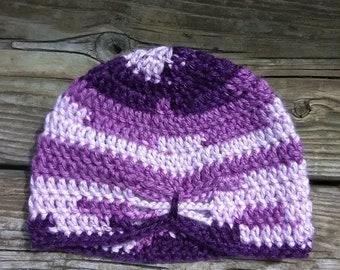 47a5dcade4822 Crochet Butterfly Beanie - 3 to 6 months