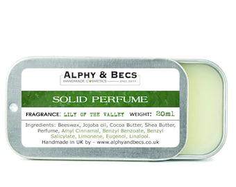Womens solid perfume | Etsy