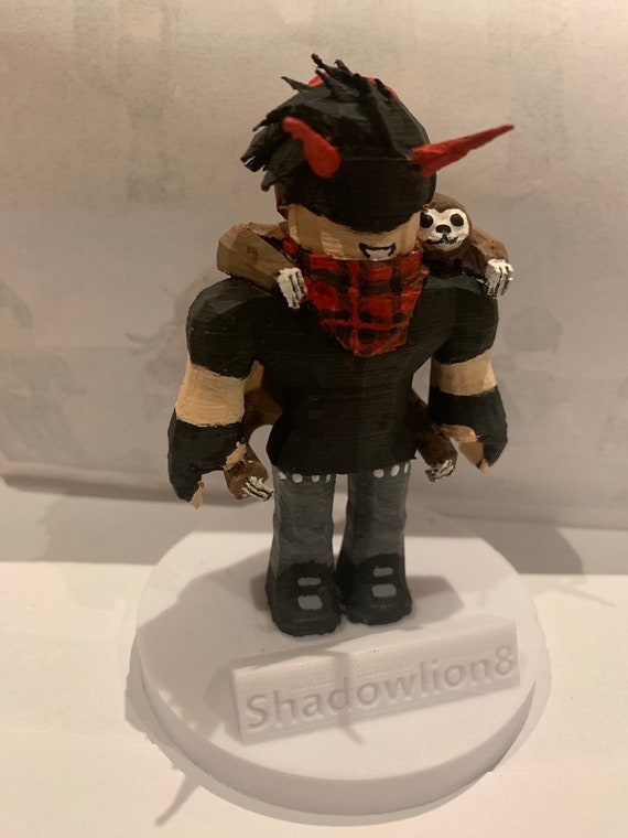 Personalized 3d Printed Roblox Character - how to customize your roblox avatar