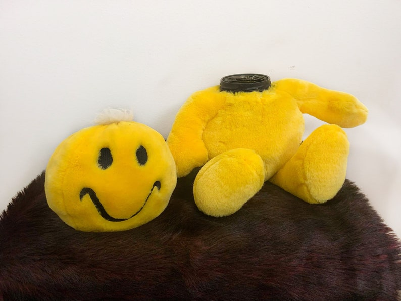 Smiley Face Hidey Bear  SMELL PROOF stealth container