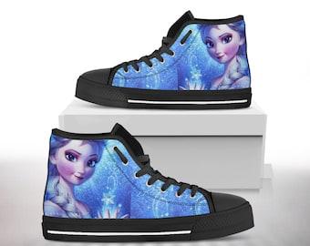 3091936b7cbda Elsa sneakers | Etsy
