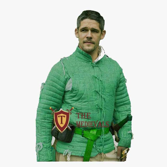 Gambeson costumes for theater knight armor sca armor Medieval larp Aketon Jacket