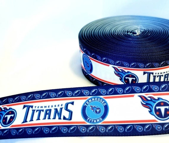 "scrapbook NFL Houston Texans 3 yards of 1/"" Grosgrain Ribbon Bow Craft Headband"