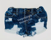 Baby Toddler Kids Distressed Jean Shorts