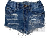 Distressed Infant Toddler Kids Shorts