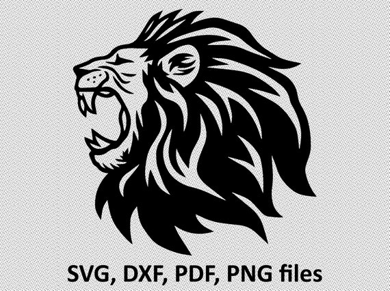 Lion Svg Lion Svg File For Cricut Lion Svg Designs Lion Svg Etsy