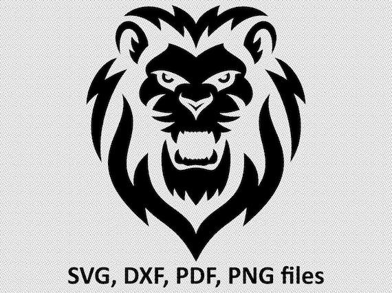 Lion Svg Lion Svg File For Cricut Lion Svg Designs Lion Svg Etsy