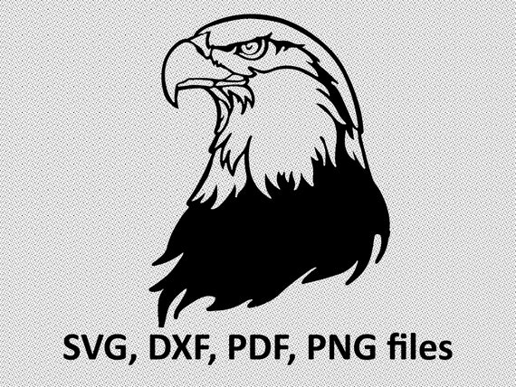 DXF Dxf Eagle PNG Digital file Eagle for printing on T-shirts Eagle SVG File for paper cutting