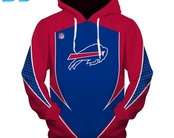designer fashion 01917 7f89e Bills nfl hoodie | Etsy