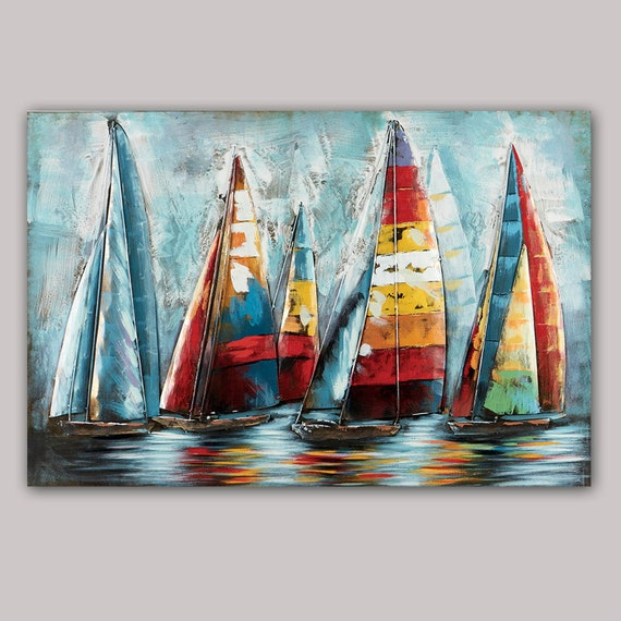 Boat Wall Art Painting
