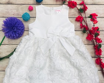 d120c78a035 Unik Rosette Party Dress for Birthday