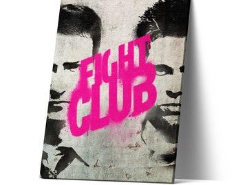 Poster Fight Club Handmade Graffiti Street Art Artwork