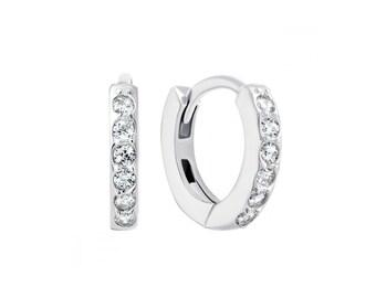 8e7da541664c Silver earrings gift for her wedding earrings earrings studs cubic zirconia  Bride wedding Gift to the bride Wedding gift Gift for her