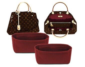 4b75ce5a37bd Organizer for Louis Vuitton MONTAIGNE, Louis Vuitton MONTAIGNE Insert, Felt Purse  Organizer, Bag Organizer, Tote Bag Insert, Handbag Shaper
