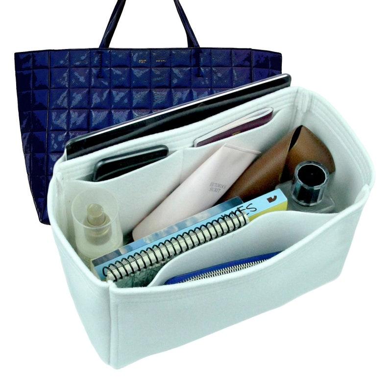 Celine Insert Organizer, Organizer for Celine Bag, Felt Purse Organizer, Bag Organizer, Handbag Shaper, With Wallet Pocket, Tote Bag Insert