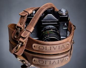 camera strap personalized