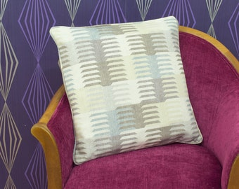 Warwick Medina Screen Printed Cotton Piped Cushion Cover / Pillow Cover