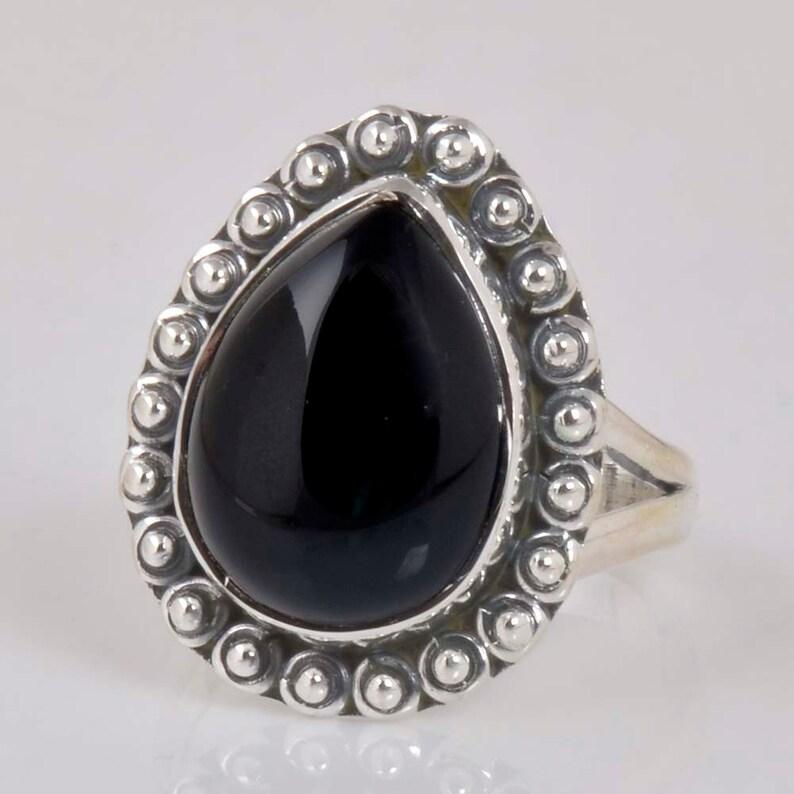 925 Sterling Silver Black Onyx Batman Dark Knight Men/'s earrings Stud