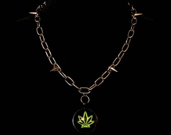 420 Spiked Chain