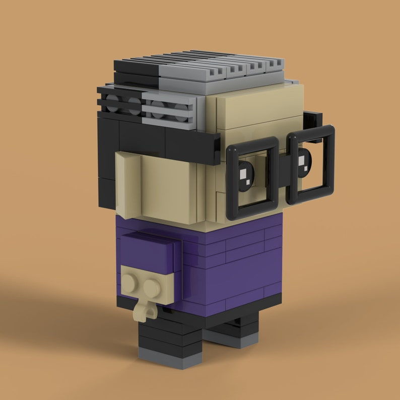 Personalized PeopleCharacter Brick Set