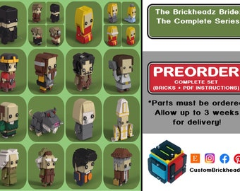 The Brickheadz Bride Complete Series (PREORDER - 3 Weeks for Delivery!)