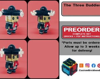 3 Buddies! (PREORDER - 3 Weeks for Delivery!)