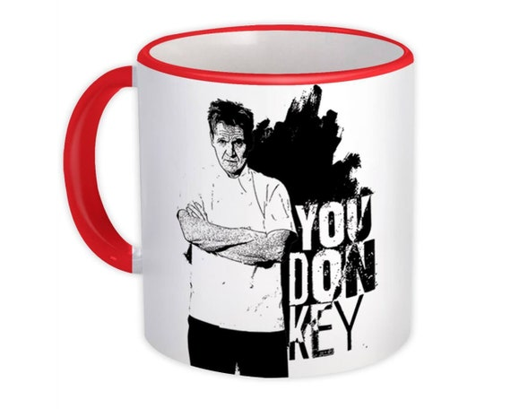 Chef Cook Gift Mug Gordon Ramsay Funny Meme Parody You F*ck Off