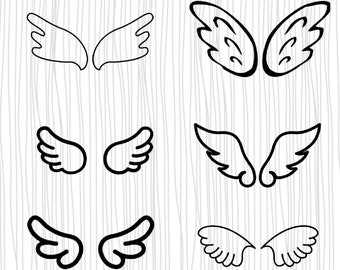 You Are Missed Twin Wings Heaven Classic Vintage Victorian Hand Drawn Tattoo 80/% Off Sale Angel Girls Drawing SVG Instant Download PDF