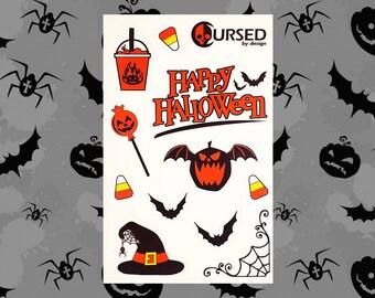 Happy Halloween Sticker Sheet