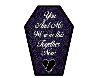 You and Me We're in this Together Now Greeting Card