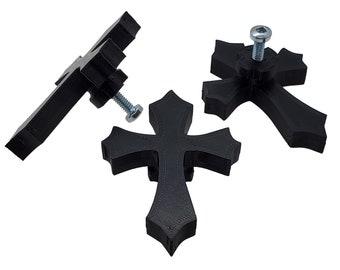 Gothic Cross Cabinet Knob