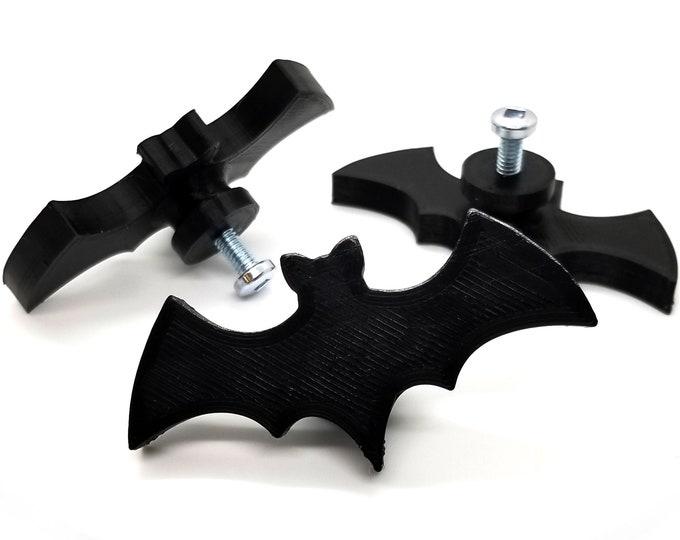 Featured listing image: Bat Cabinet Knob    gothic home decor kitchen cabinet drawer pull dresser handle halloween bat decoration decorative cupboard knob vampire
