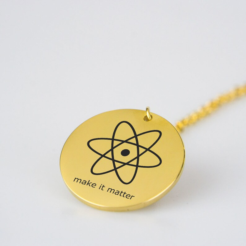 Make It Matter Stainless Steel Pendant